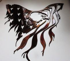"""Eagle and Flag Metal Wall Art 15 1/2"""" x 15"""" - $35.99"""