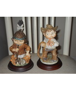 Vintage Cowboy and Indian Figurines - $42.74