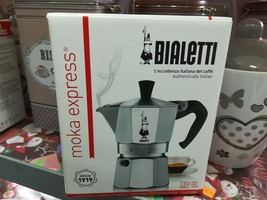Bialetti Mocha Express Coffee maker 3 Cups Made in Italy Machine coffee - $24.31