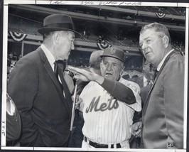 CASEY STENGEL - 9 different original wire photographs - New York Mets - $71.28