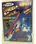 Estes Flying Model Rocket Mega Maxx Model 1474 Parts Made In USA - $34.64