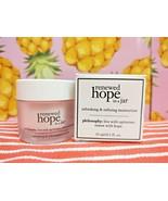 Philosophy RENEWED HOPE IN A JAR Face Moisturizer Cream Lotion .5 oz ~ B... - $11.28
