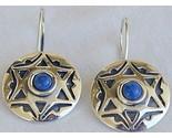 David star blue earrings thumb155 crop