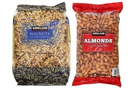 Kirkland Signature Walnuts and Almonds Bundle - Includes Kirkland Signature Waln - $54.23
