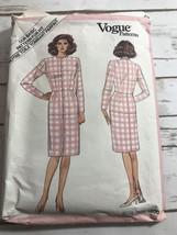 Vintage 85 VOGUE 1000 Misses Dress Fitting Shell PATTERN 14 - $7.87