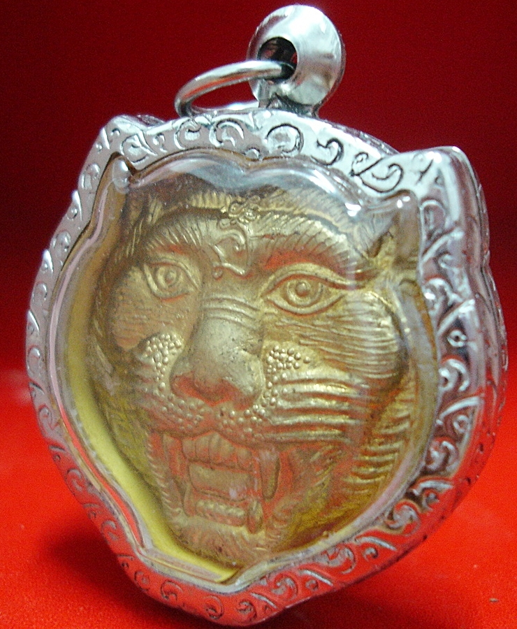 MAGIC TIGER LP PERN THAI HOT BUDDHA AMULET PENDANT