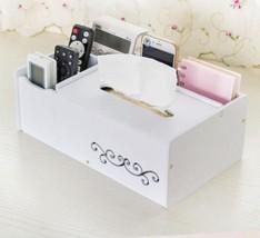 Plastic Tissue Box Tissue Box Holder Waterproof Tissue Case Organizer Mo... - $25.97