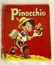 1961 Walt Disney's Pinocchio Whitman Top Top Tales Kids Book - USED - $9.49