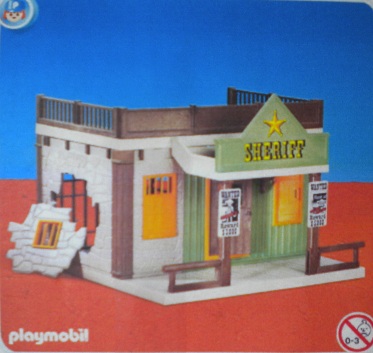 PLAYMOBIL SHERIFF'S OFFICE 7378 NEW IN BOX - $25.50