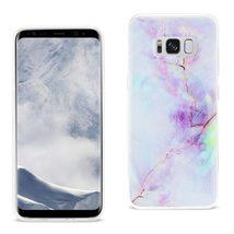 Reiko Samsung Galaxy S8 EDGE/ S8 Plus Opal Iphone Cover In Purple - $8.86