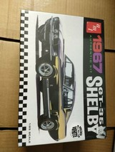 AMT 1967 Ford Shelby GT350 1:25 scale model kit MOLDED IN WHITE - NEW SE... - $28.70