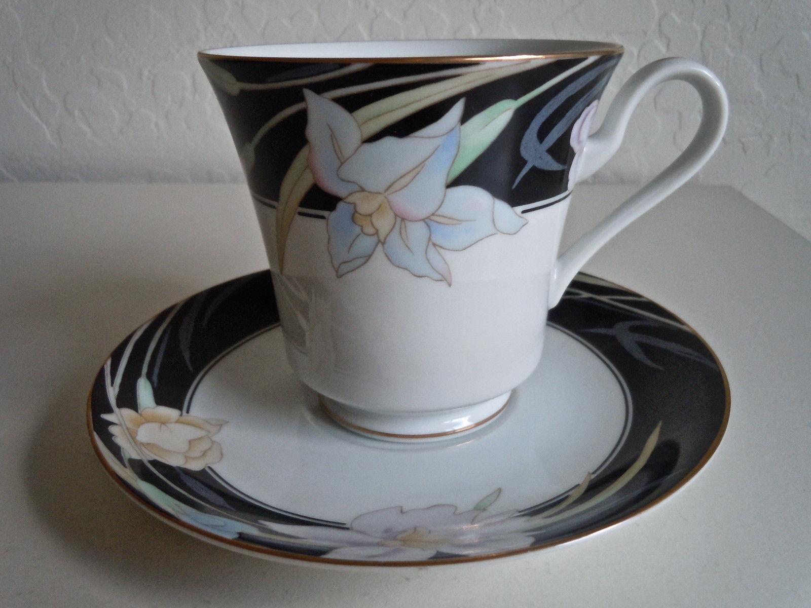 Mikasa Charisma Black Cup and Saucer Set and 50 similar items
