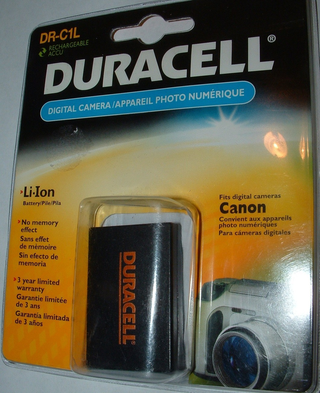 DIGITAL CAMERA BATTERY /  DR-C1L POWER SHOT S100-S110-S300