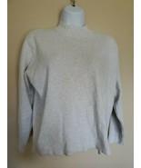 H&M Basic Gray Sweatshirt Shirt Top Medium - $12.86