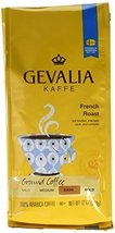Gevalia Roast and Ground Coffee, French Roast, 12 Ounce (Pack of 6) - $56.99