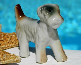 Vintage Wire Haired Fox Terrier Dog Porcelain F... - $9.95