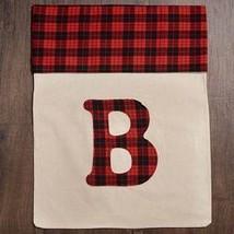 Giant Plaid Monogram Gift Bag (B) - $13.97
