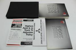 04 Mitsubishi Eclipse Vehicle Owners Manual Handbook Guide Set - $39.95