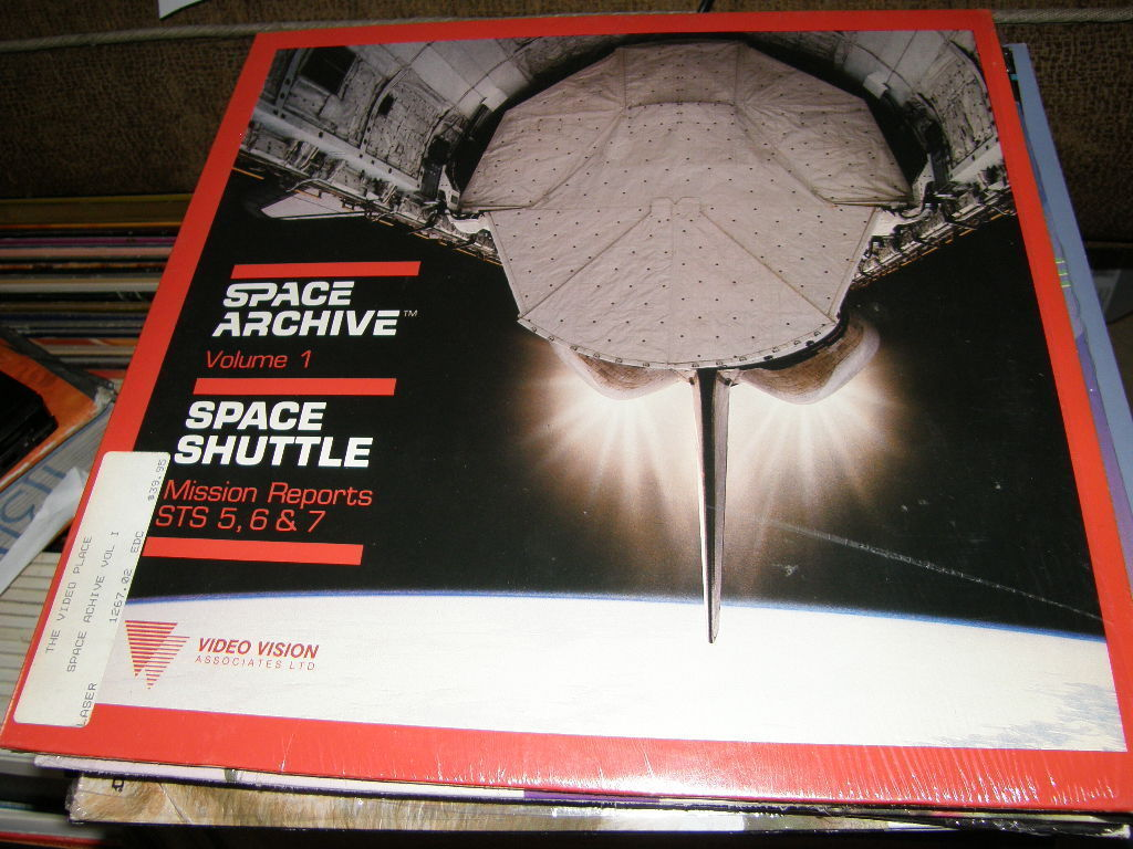 Space Archive Space Shuttle Vol. 1 Laserdisc