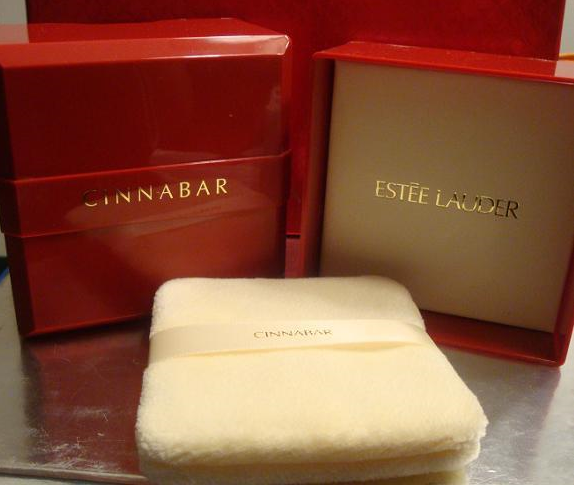 Rare CINNABAR DUSTING POWDER 3 OZ. Estee Lauder Bath Body Perfume Fragrance NEW