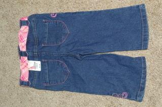 Arizona Jean Co Blue Jeans Capri Pant Girls Size 4