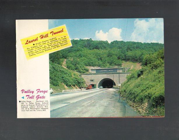 Pennsylvania Turnpike System, Souvenir Book, 1950's World's