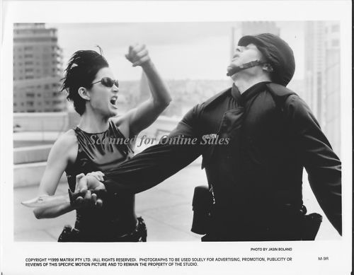Carrie Ann Moss The Matrix 8x10 Photo