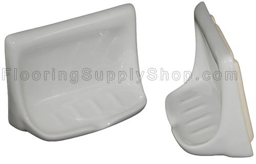Porcelain Soap Dish - Heron Blue