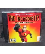 Disney THE INCREDIBLES PC CD-ROM PRINT STUDIO NEW! SEALED - $9.96