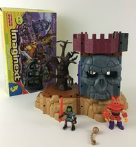 Fisher Price Imaginext Goblin's Dungeon Playset 2002 Mattel Skull Cage A... - $59.35