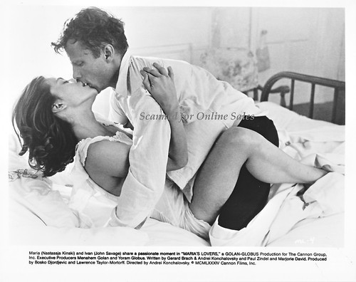 Marias Lovers Nastassja Kinski John Savage 8x10 Photo