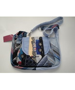 Blue Lady's Handbag made from Men's Neckties - $35.00
