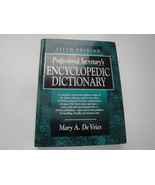 Professional Secretary's Encyclopedic Dictionary 5th Edition - $5.95