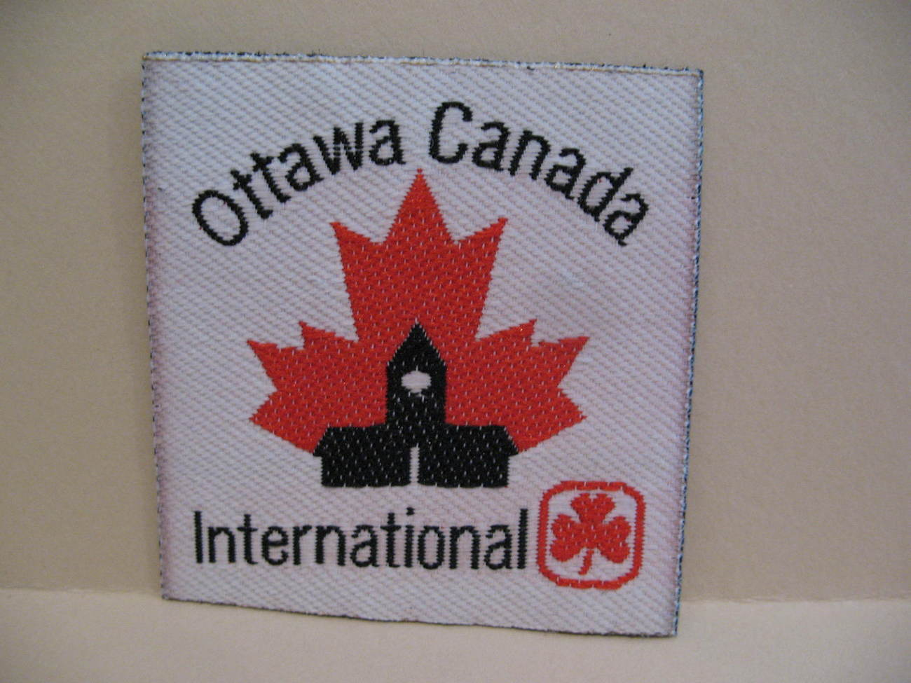 Ottawa Canada International Girl Guides Patch Badge Crest