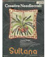 CREATIVE NEEDLECRAFT / SULTANA VICTORIA WINDOW PILLOW KIT - $19.95