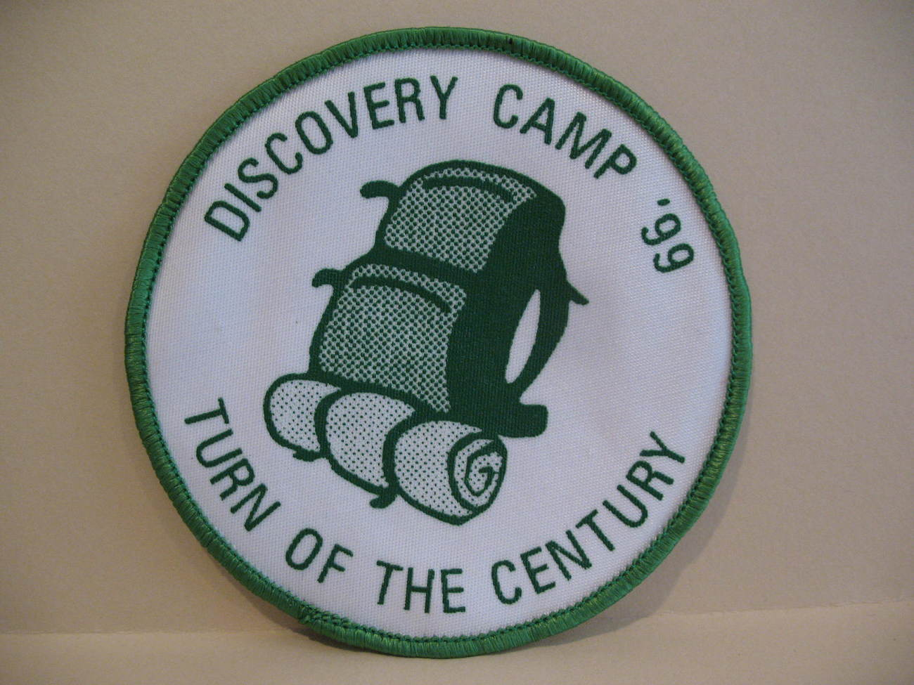 Discovery Camp Scouts Guides Patch Souvenir Badge Crest