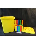 Lego Duplo 100 piece set with Yellow Bucket & Lid With 100 Piece Set custom - $33.34