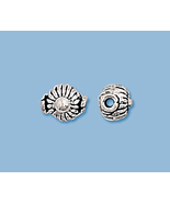 (10)NEW SOLID STERLING SILVER, BALI STYLE BEAD  - $8.42