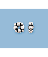 8) NEW STERLING SILVER  BALI STYLE  BEADS - $8.64