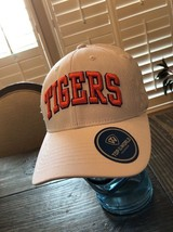 Clemson Tigers !! Top of the World - Logo Staple Adjustable Hat - White - $18.80