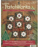 """HOLIDAY PATCHWORKS KIT / TO MAKE 8 ORNAMENTS 3"""" / NEW - $12.50"""