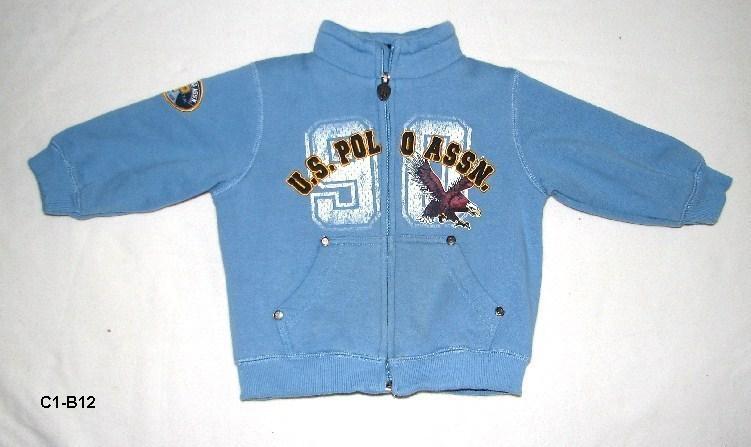 C1 b12 blue polo jacket