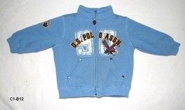 C1 b12 blue polo jacket thumb200