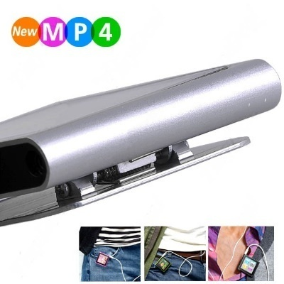 4GB Touch Screen 6th iPod Nano Style MP3 MP4 Player Silver