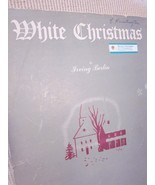Vintage Sheet Music  White Christmas by Irving Berlin 1942 - $7.99