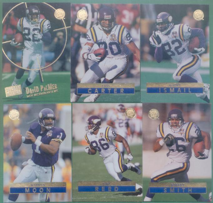 1996 Fleer Ultra Minnesota Vikings Football Set