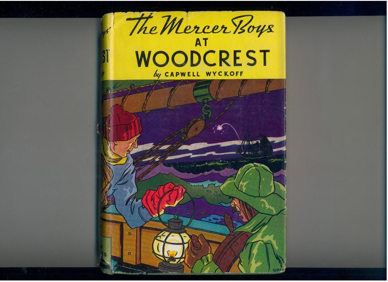 Wyckoff--MERCER BOYS AT WOODCREST--early pr.--in dust jacket