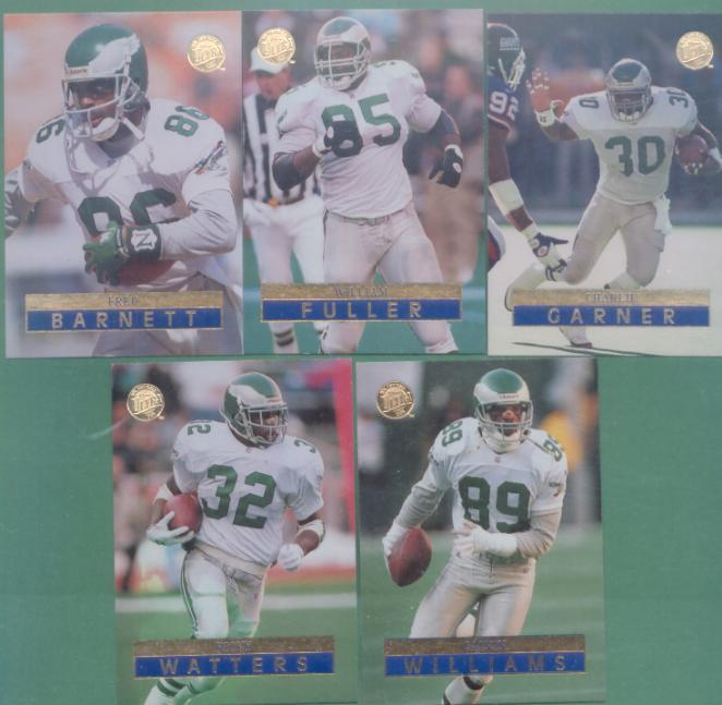 1996 Fleer Ultra Philadelphia Eagles Football Team Set