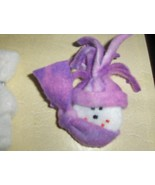 Handmade Snowman Pin - $2.75