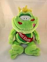 "Commonwealth Love Champs BEST KISSER Frog Plush 15""  Valentines Stuffed ... - $9.95"